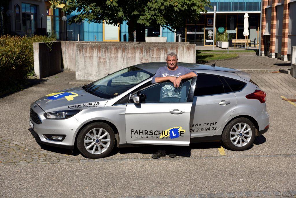 Flavio mit Auto